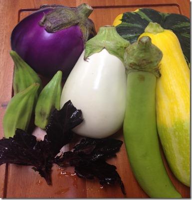 かわいい夏野菜が届きました